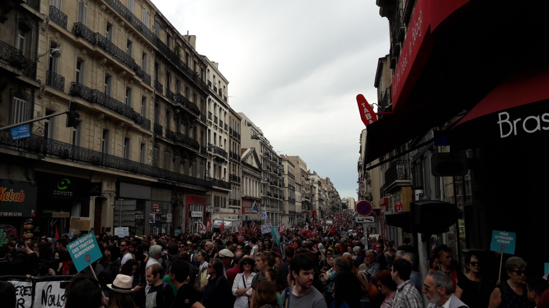 Marée Marseille